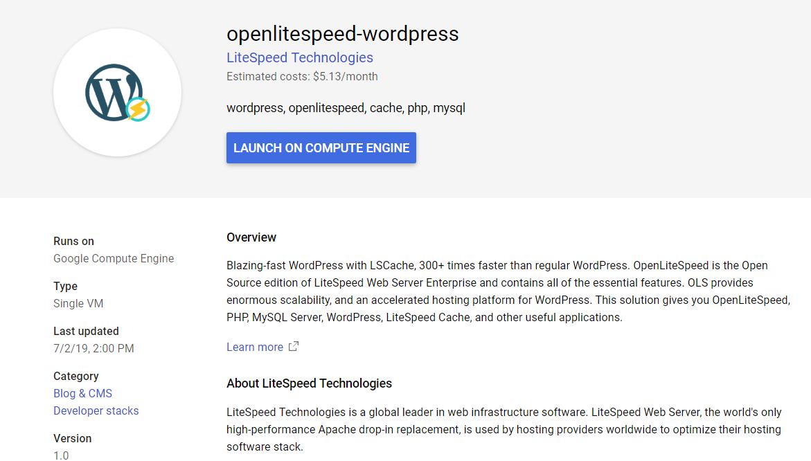 openlitespeed-wordpress