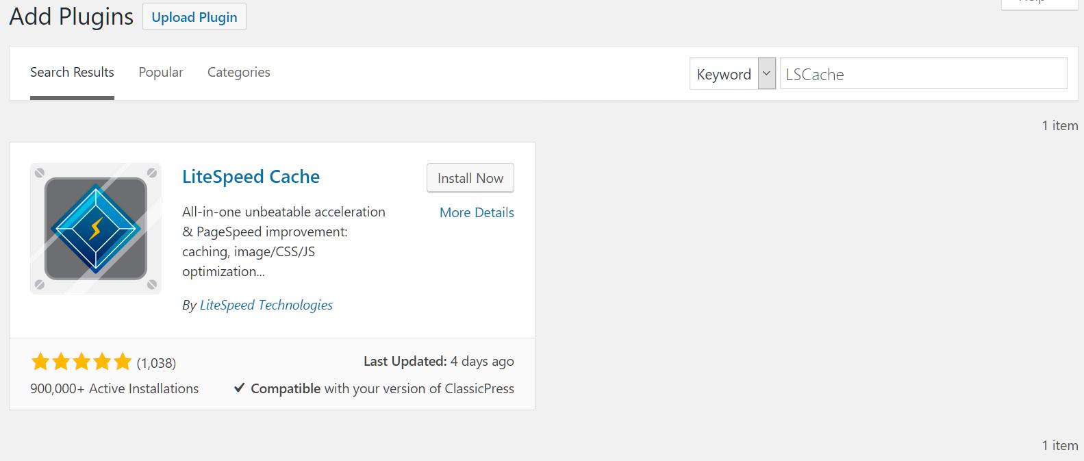WordPress | Images | Cloud | LiteSpeed Documentation